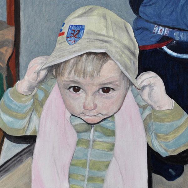 Guck mal!, Gemälde